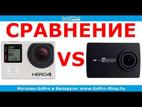 Gopro hero 4 silver видео