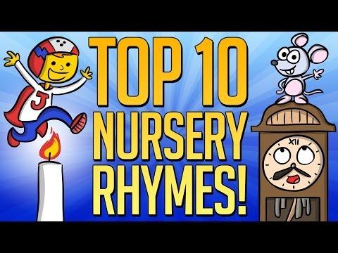 Top 10 Nursery Rhymes - Best Mother Goose Videos at Cool School!