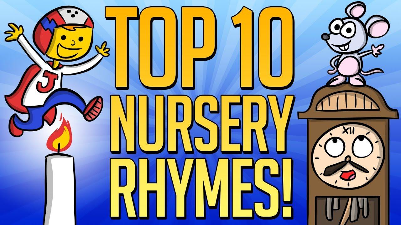 Top 10 Nursery Rhymes Best Mother Goose Videos At Cool School