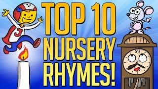 Top 10 Nursery Rhymes - Best Mother Goose Videos at Cool School!