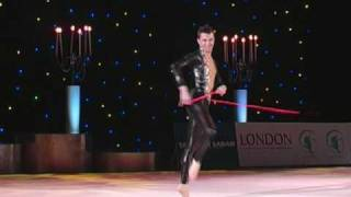 Rhythmic Gymnastics Valentines Cup 2010 Gala - Ruben Orihuela with rope More videos and DVDs at http://www.voltigierdvd.de.