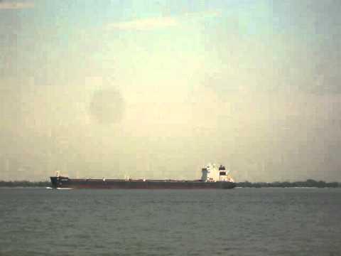Lake freighter Algoma Spirit.