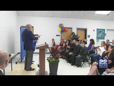 Students from Willie Ross School for the Deaf individually recognized at graduation