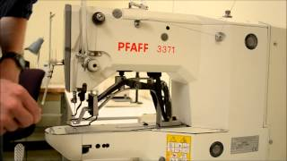 Industrial Electronic Bar Tack - Pfaff 3371