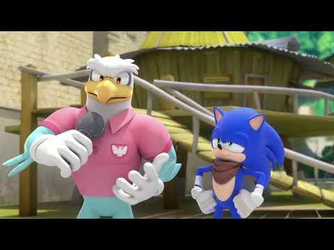 Соник Бум - 1 сезон 44 серия - Ещё один злодей   Sonic Boom - мультик для детей