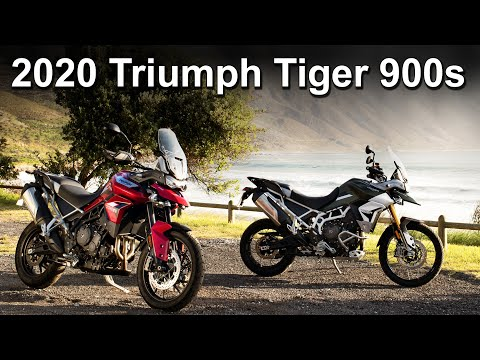 2020 Triumph Tiger 900 Range - GT - Rally - Pro - Model Update Overview