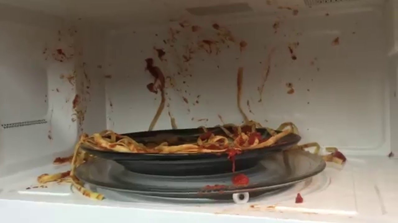 how to quickly clean your microwave
