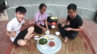 Tua ngược lại bữa cơm hàng ngày của Bà Tân vlogs cùng các con