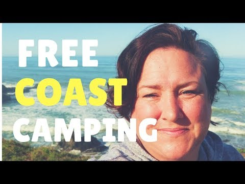 FREE CAMPING along the California Central Coast, visit The Hearst Castle, Morro Bay...