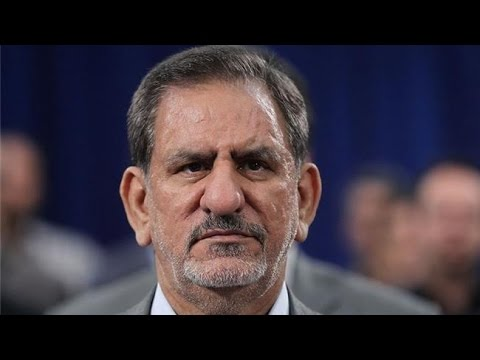 Eshagh Jahangiri joined Hassan Rouhani while Ghalbaf have joined earlier Ebrahim Raeissi