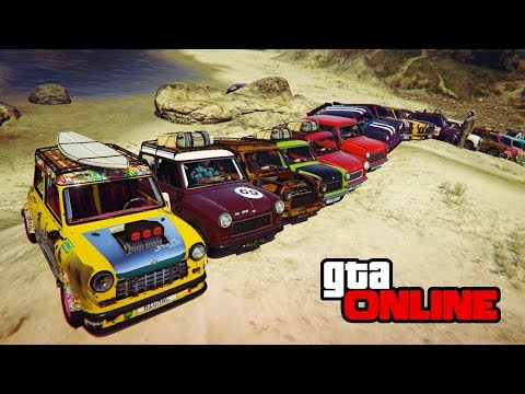 ISSI CLASSIC GROUP OFFROADING! || GTA 5 Online || PC (Funny Moments)