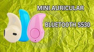 ♍Mini auricular Bluetooth S530 | Mini Bluetooth headphone S530