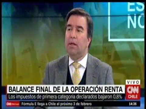 Balance Operación Renta 2017: Tesorero general en CNN Chile