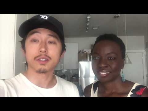 The Ultimate Walking Dead Experience plus an Ichat Danai & Steven