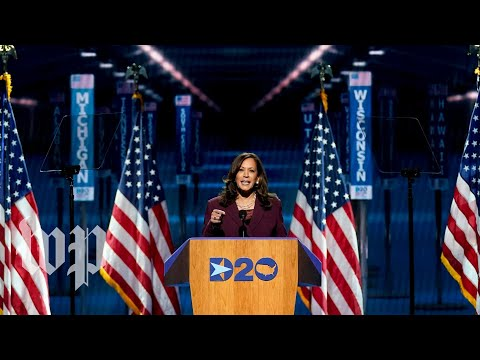 Watch Kamala Harris's full speech at the 2020 Democratic National convention