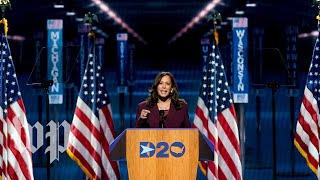 Watch Kamala Harris's full speech at the 2020 Democratic National convention