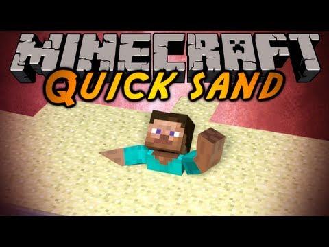 Minecraft Mod Showcase : QUICKSAND!