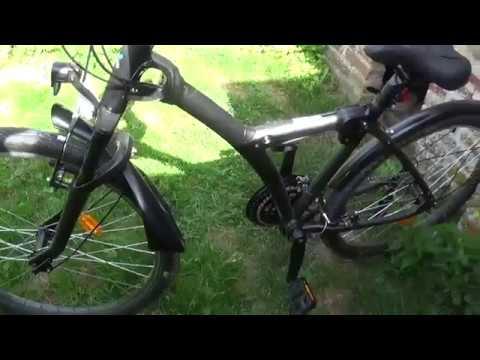 DECATHLON VTC EXTRÊMEMENT DANGEREUX - vélo B'ORIGINAL 900 risque d'accident