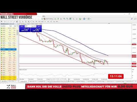 12.02. Wall Street Vorbörse/Handelsrückblick - US Märkte, Aktien, Gold, Devisen und mehr