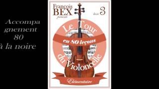 """Accompagnement leçon 55 """"Romance à l'italienne"""" Le tour du violoncelle en 80 leçons"""