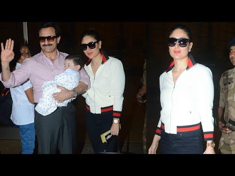 Gucci Girl Kareena Kapoor Khan Jets Off To Switzerland In Style