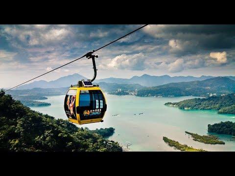 Maokong Gondola cable car Taipei, Taiwan.