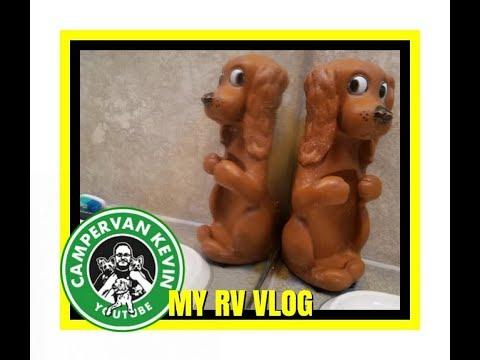 Show-N-Tell, Dog Baths, Making My Class A RV Home