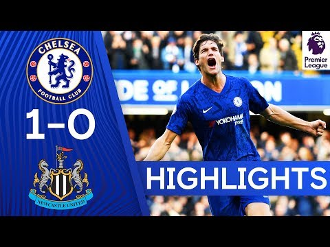 Chelsea 1-0 Newcastle United | Chelsea Secures 3 Points After Marcos Alonso's Strike | Highlights