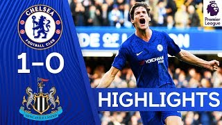 Chelsea 1 0 Newcastle United | Chelsea Secures 3 Wins After Marcos Alonso's Strike | Highlights