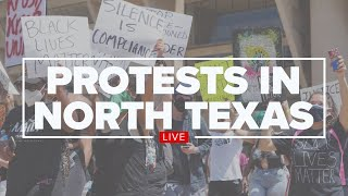 WATCH: Protest for justice after George Floyd's death being held at Dallas City Hall