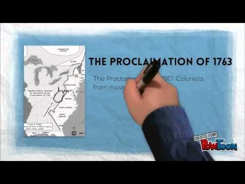 Proclaimation 1763
