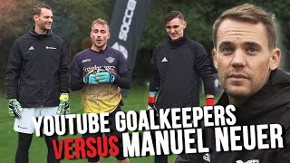 Does an Amateur Goalkeeper have any Chance against Manuel Neuer?