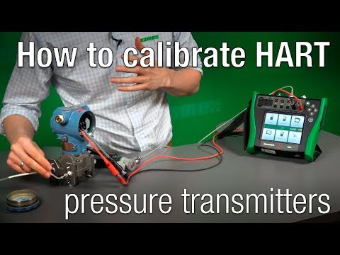 How To Calibrate HART Pressure Transmitters - Beamex