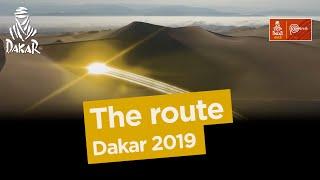 Volledige route Dakar 2019
