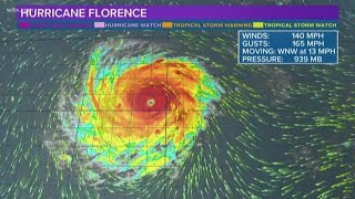 Hurricane Florence Could Be an 'East Coast Harvey'