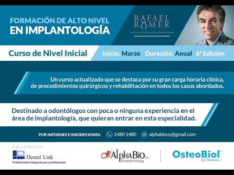 Curso Inicial de Implantología del Dr. Rafael Römer