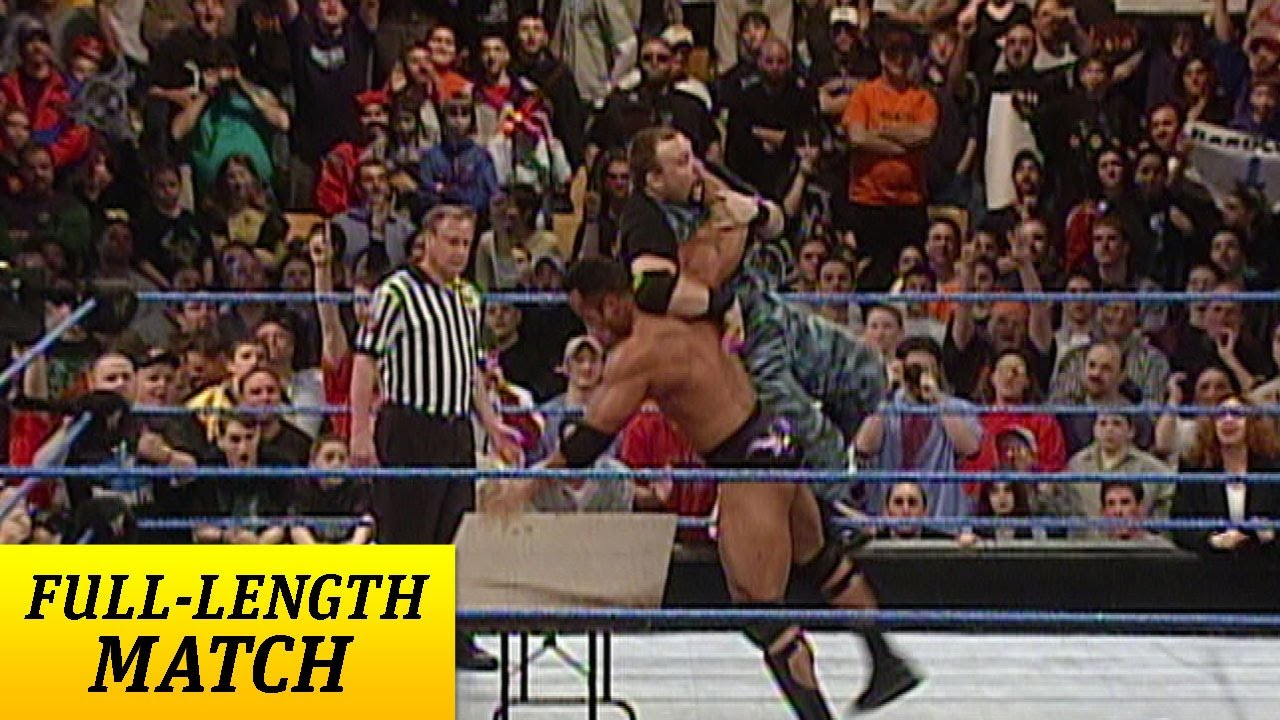 FULL-LENGTH MATCH - SmackDown - The Rock vs. Dudley Boyz - Tables ...