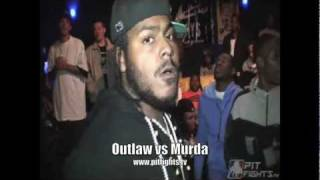 FIRST BLOOD: Outlaw vs Murda: Pit Fights Battle League