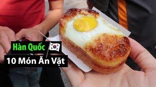 10 MÓn Ăn VẶt Ngon NhẤt ChỢ Myeongdong Hàn Quốc