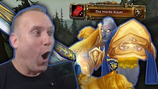 SWIFTY THE HORDE SLAYER - WoW World PvP in Tiragarde Sound Highlights - BFA 8.0.1