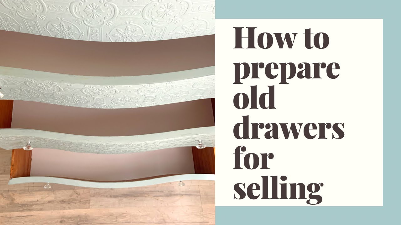 How to Refinish Furniture Drawers Before Selling | Flipping Furniture | Quick Chat