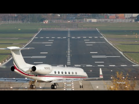 Gulfstream G550 powerful short takeoff Best looking Business Jet