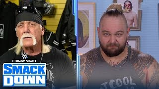 Bray Wyatt interrupts Hulk Hogan during his return to WWE SmackDown   FRIDAY NIGHT SMACKDOWN