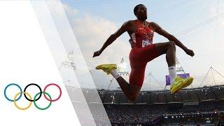 Christian Taylor Wins Men's Triple Jump Gold - London 2012 Olympics