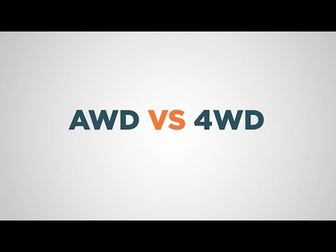 AWD vs 4WD: What