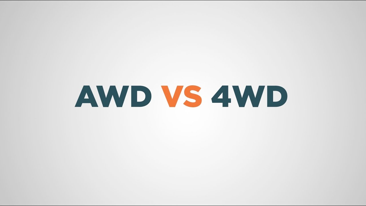 awd vs 4wd what 39 s the difference and which is best for you youtube. Black Bedroom Furniture Sets. Home Design Ideas