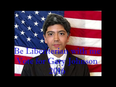 Vote for Gary Johnson 2016 Mr.Brannen