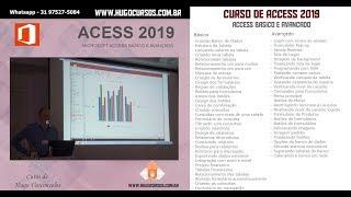 Access 2019 Básico e Avançado - Aula 10 - Criação de Formulários
