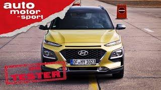 Hyundai Kona 1.6 T-GDI: Zieht er an allen vorbei? - Die Tester | auto motor und sport