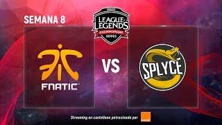 FNATIC VS SPLYCE   LCS EU   Semana 8   Summer Split [2018]